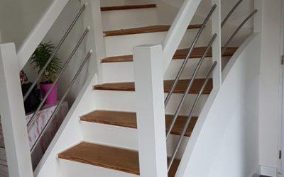 Modernisation d'un escalier
