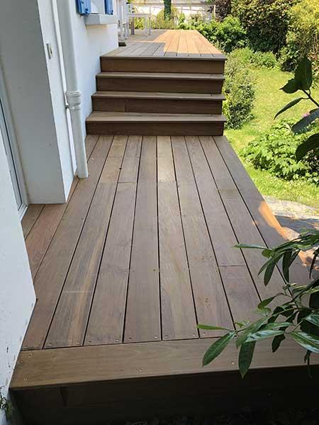 Rénovation de terrasse la Trinité sur mer