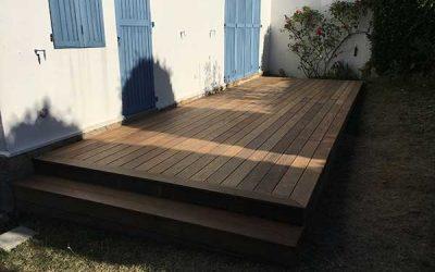 Nouvelle rénovation de terrasse